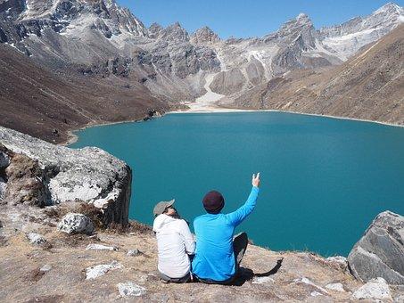 Gokyo, Lake, Nepal, Khumbu, Trek, 3 Passes