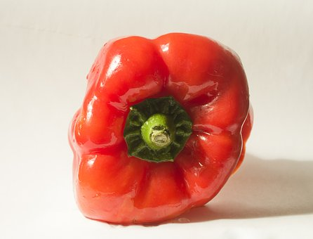 Red Pepper, Vegetable, Market, Red, Pepper, Food