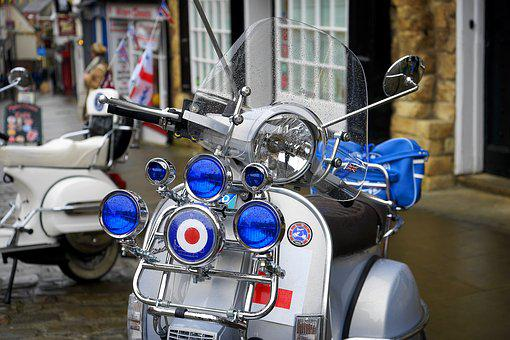 Vespa, Scooter, Motorcycle, Vehicle, Icon, Urban, Italy