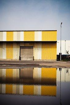 Warehouse, Port, Stock, Goods Depot, City, Industry