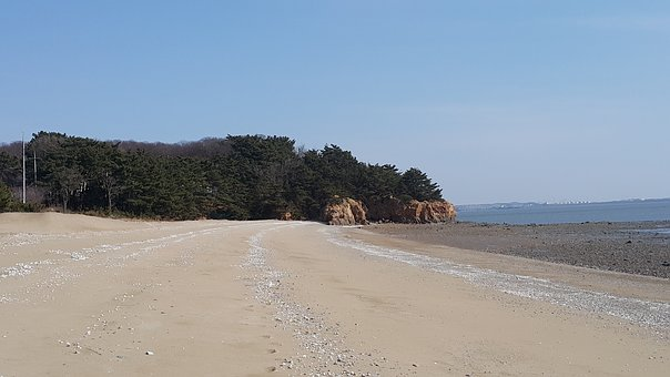 West Coast, Yeongjongdo, West-sea, Korea, Sea
