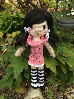 Crochet Doll, Crochet, Crochet Pattern, Yarn, Wool