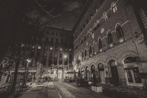 Budapest, At Night, City, Főrváros, Lights