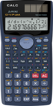 Algebra, Arithmetic, Calculator, Casio