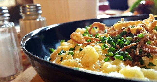 Cheese Noodles, Eat, Spätzle, Court, Substantial