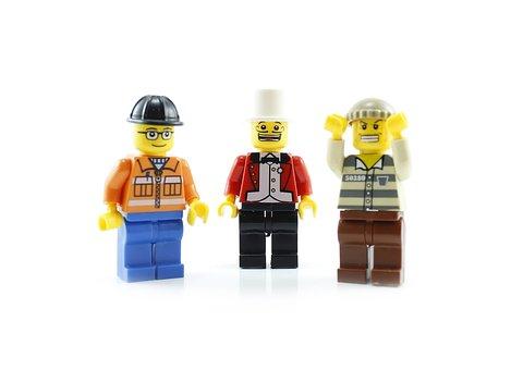 Lego, Figure, Person, Boy, Little, One, Child