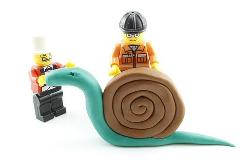 Snail, Plasticine, Lego, Play, Clay, Toy, White, Child