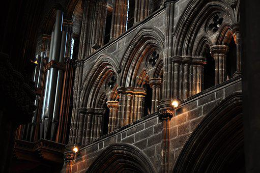 Evening, Glasgow Cathedral, Church, Architecture
