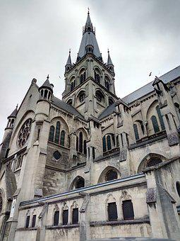 Cathedral, Of Epernay, En, France, Building