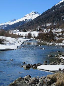 Switzerland, Engadin, Graubünden, Alpine, Panorama