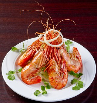 Food, Korean Cuisine, Braised Tiger Prawns, Nutrition