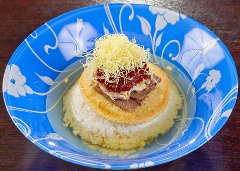 Food, Korean Cuisine, Korean Pilaf Of Rice With Kimchi