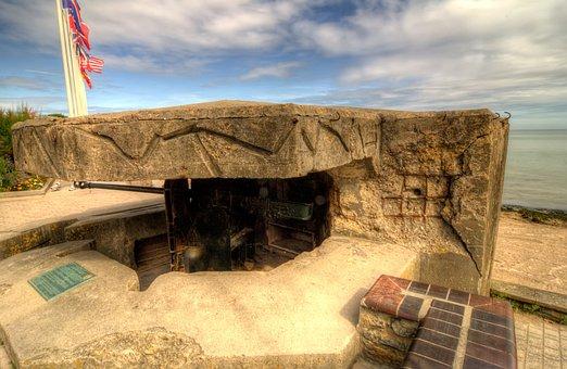 St Aubin Sur Mer, Juno, D-day, Normandy, Bunker, France
