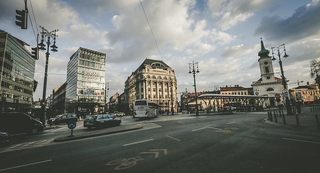 Budapest, Hungary, Kálvin Square, Building, Tourists