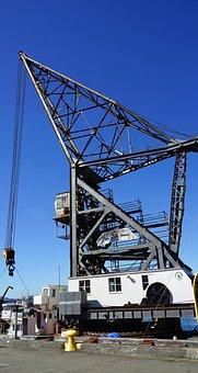 Crane, Unloading, Loading, Industry, Loading Cranes