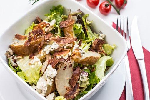 Italian Salad, Chicken Salad, Vegetables, Salad