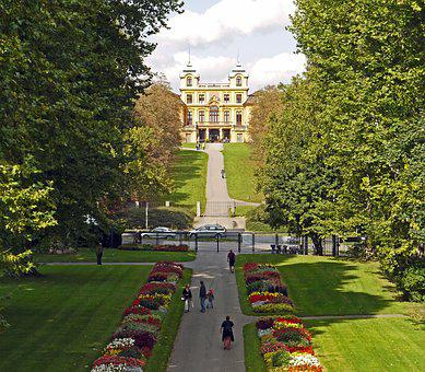 Ludwigsburg Germany, Concluded Favorite, Hunting Lodge