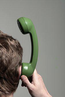 Communication, Error, No Connection, Man, Listeners
