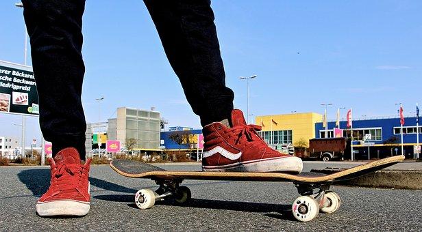 Boy, Man, Skating, Skateboard, Young Man, Human