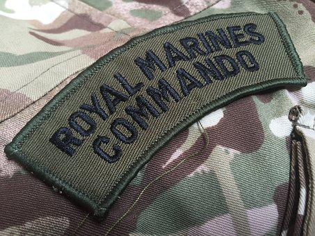 Mimetic, Military, Royal Marines, Commando, Uniform