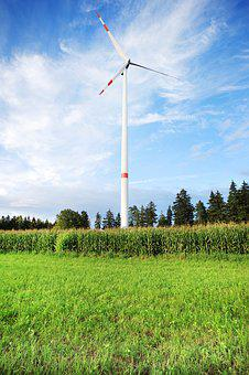 Wind Power, Wind Energy, Pinwheel, Power Generation