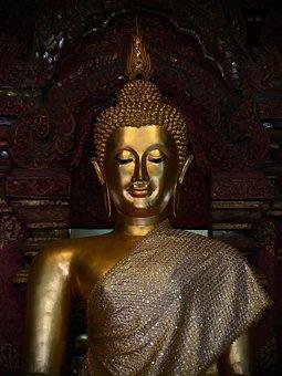Buddha, Religion, Statue, Buddhism, Religious, Thailand