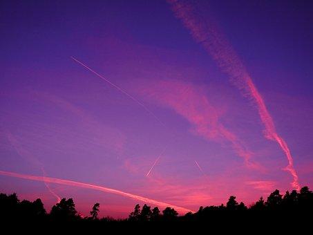 Sky, Clouds, Day, Blue, Landscape, Mood, Cotton, Fluffy