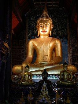 Buddha, Statue, Temple, Buddhism, Culture, Asia