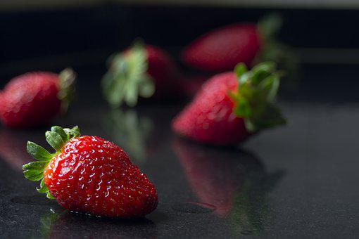 Strawberry, Fruit, Red, Sweet, Greenhouse, Red Fruit