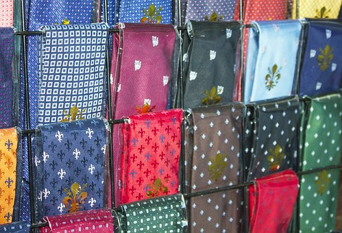 Ties, Necktie, Elegance, Florence, Lily, Decor, Fabric