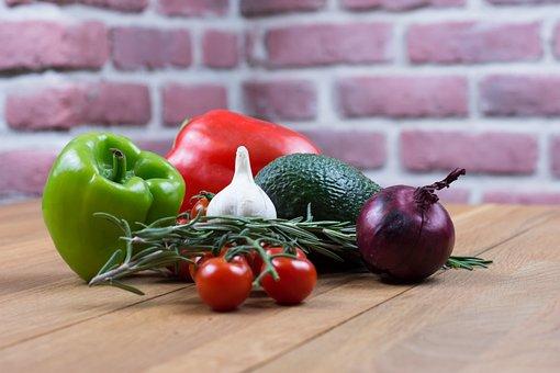 Onion, Pepper, Garlic, Cherry Tomatoes, Tomatoes
