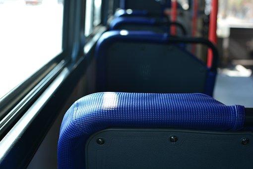 Bus, Vehicle, Chair