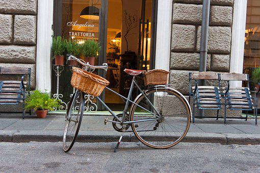 Bike, Wheel, Dutch, Retro, Bicycle Basket, Leisure