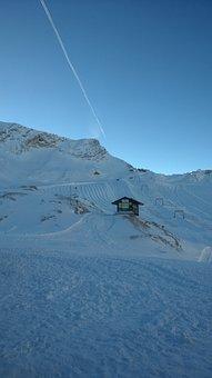 Zugspitze, Schneefernerhaus, Winter