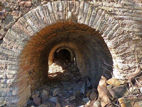 Tunnel, Vault, Arch, Freemasonry, Brick, Ruin