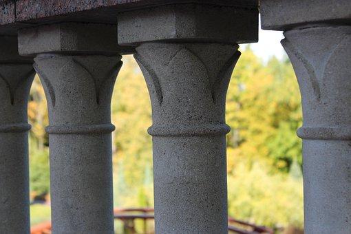 Stone, Summer, Beauty, The Pillars, Foundation Pillars