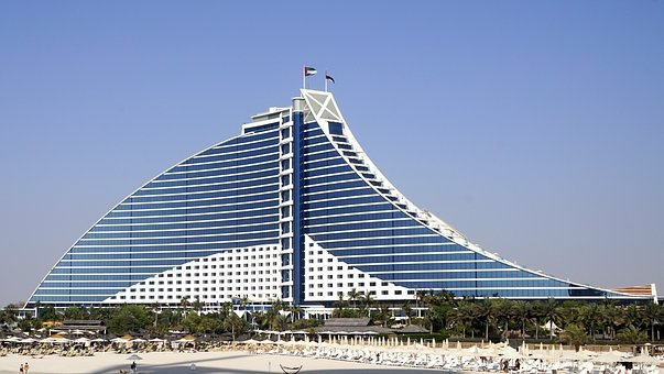 Jumeirah Beach Hotel, Beach, Jumeirah Beach, Building