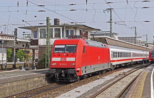 Intercity, Stay, Muenster Westphalia, Central Station