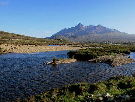 Scotland, Scottish, Isle Of Skye, Cuillin, Mountain