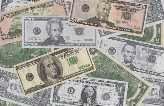 Background, Currency, Cash, Banknote, Paper, Dollar