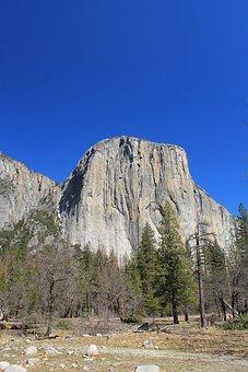 El Capitan, Yosemite, Usa, California, National, Nature