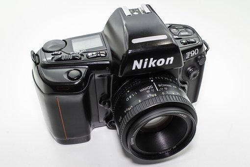 Nikon, F90, Film, Camera, 35mm, Small Picture, Kodak