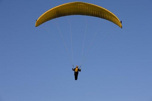 Paraglider, Paragliding, Fly, Sky, Float, Freedom