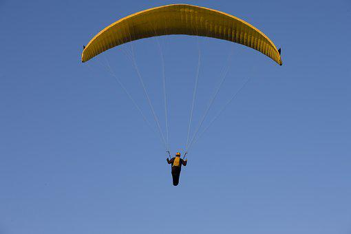 Paraglider, Paragliding, Flying, Sky, Float, Freedom