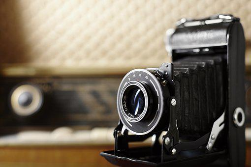 Camera, Old, Nostalgia, Photograph, Photo Camera