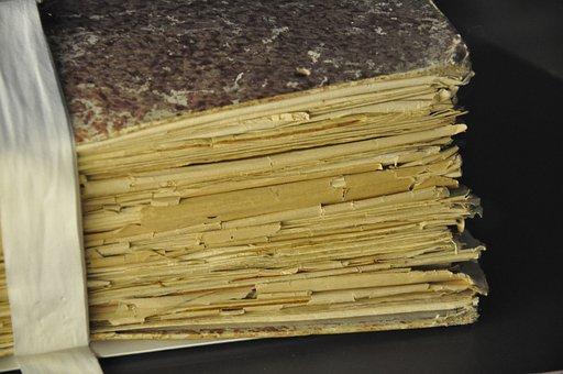 Book, Manuscript, Paper, Old