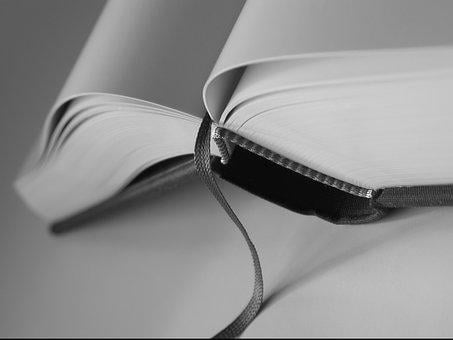 Open Book, Close, Bookmark, Section