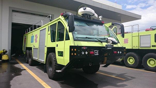 Fire, Pumper, Airport Firefighters
