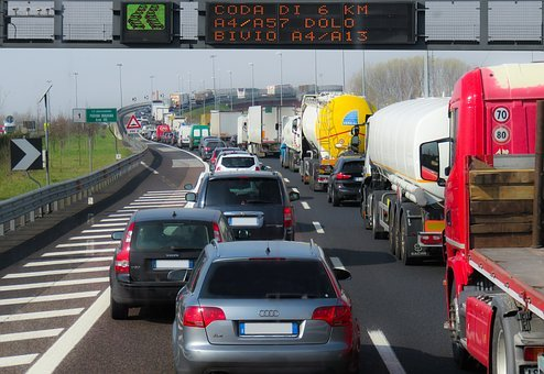 Traffic, Vehicles, Jam, Highway, Auto, Road, Transport