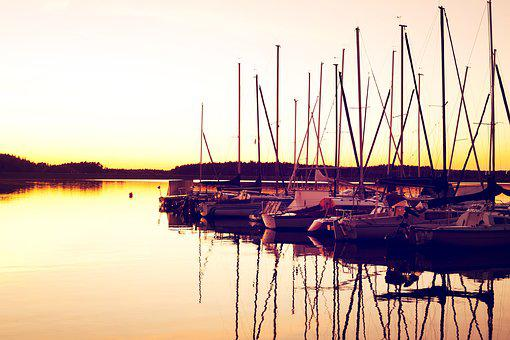 Yacht, Port, Boats, Sailing Boats, Sea, Powerboat